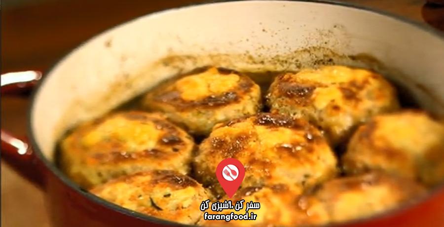 نانوایی پل هالیوود فیلم آموزش پخت نان انگلیسی اسکان پنیری با خوراک کابلر گوشت