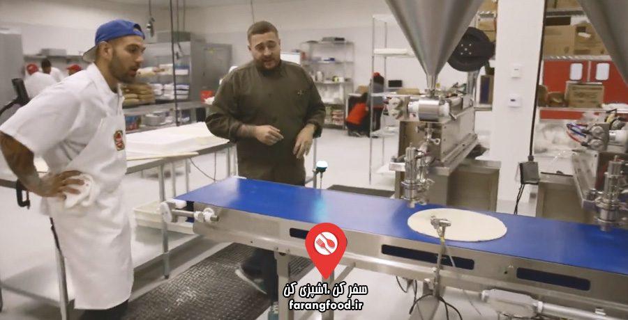 پیتزا شو سفر به آمریکا (سیلیکون ولی)
