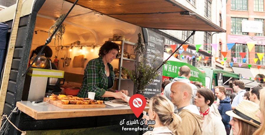 آشپز جسور فیلم آموزش غذاهای خیابانی بریتانیایی
