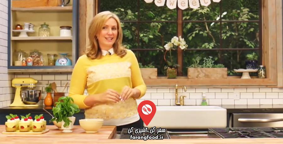 دوست داران کاپ کیک فیلم آموزش چیز کیک رزبری لیمویی بدون نیاز به پخت