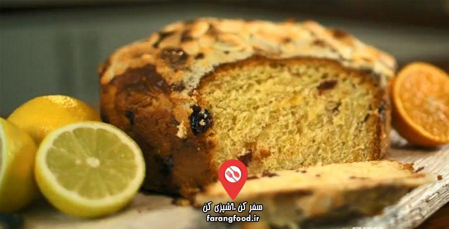 نانوایی پل هالیوود فیلم آموزش پخت نان ایتالیایی لیمو پرتقالی