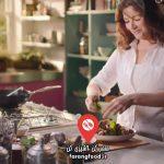 آشپزی در خانه با نایجلا : فیلم آموزش خوراک مرغ و نخود سبز با ملکه پودینگ ها