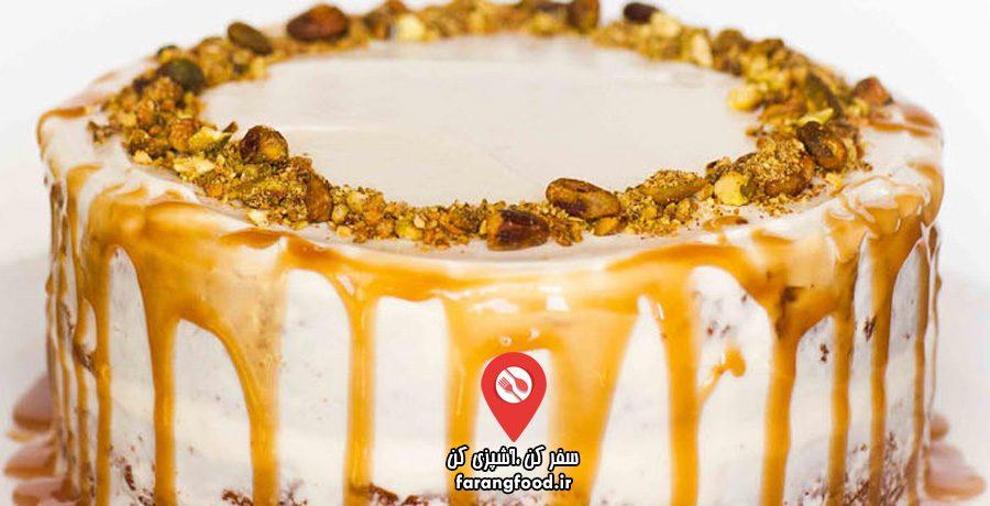 آشپزی با تاتیانا فیلم آموزش کیک خامه ای هویج پسته (2)
