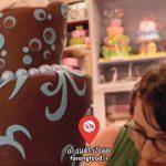 دوست داران کاپ کیک : فیلم آموزش شیرینی کرم دار عروسکی مینیون