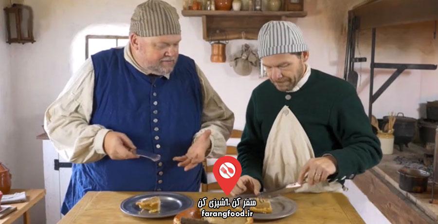 آشپزی قرن هجدهم فیلم آموزش پودینگ شاه بلوط