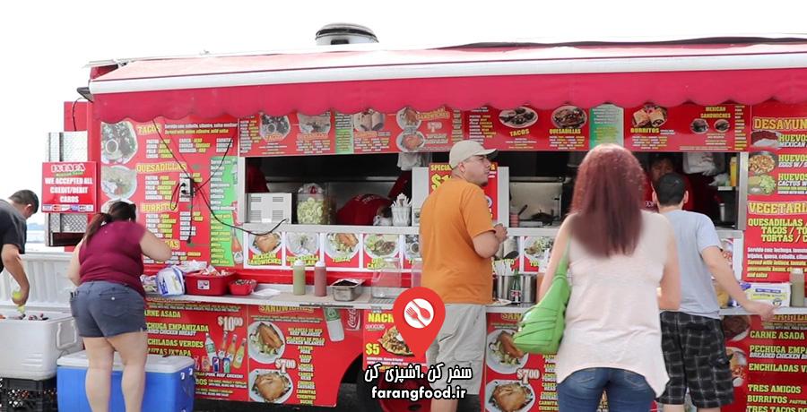 آشپز جسور فیلم آموزش غذاهای خیابانی آمریکایی