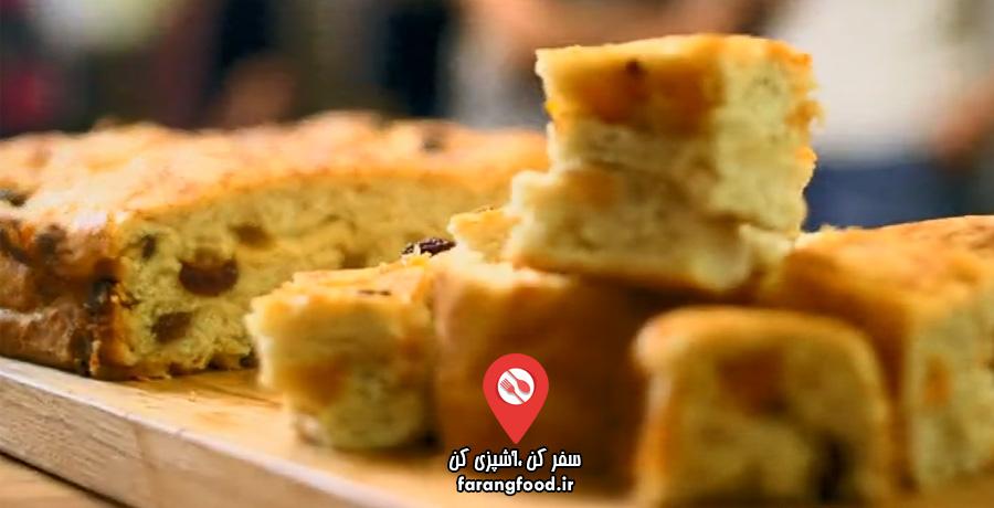 نانوایی پل هالیوود فیلم آموزش کیک سنتی انگلیسی لاردی