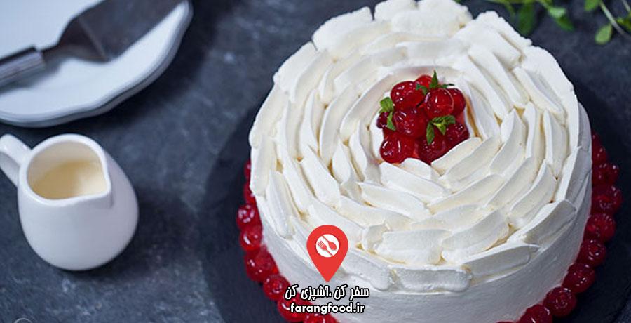 آشپزی خانگی فیلم آموزش کیک اسپانیایی سه شیر (تِرِس لِچِس)