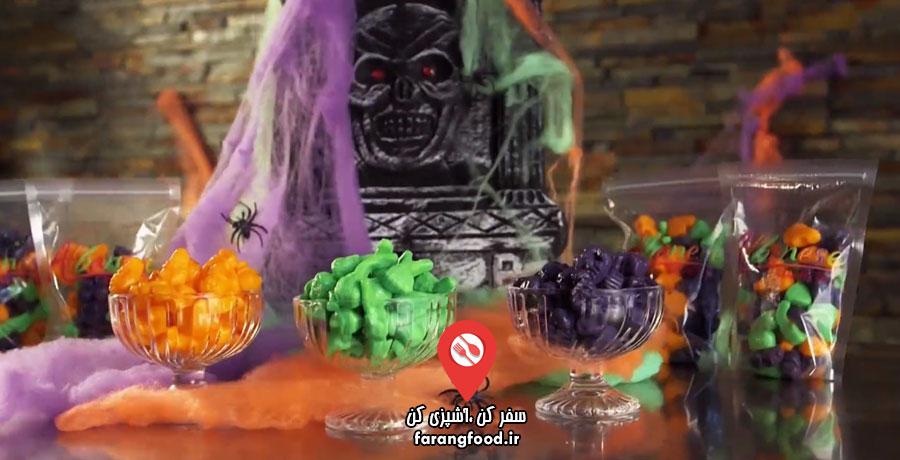 اسرار خوراکی ها فیلم آموزش تولید آبنبات گامی
