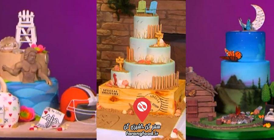 شگفت انگیزترین کیک های عروسی قسمت پانزدهم