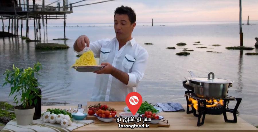 جینو و آشپزی ایتالیایی قسمت اول