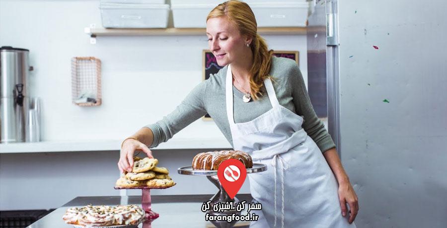 میز سرآشپز فیلم سبک آشپزی کریستینا توسی