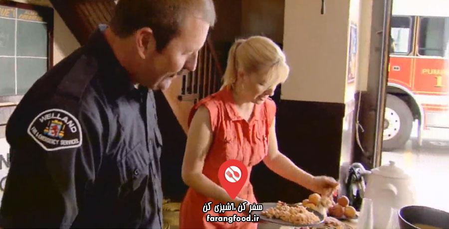 آشپزی با آنا فیلم آموزش ناهار مقوی و سالم برای آتش نشان ها