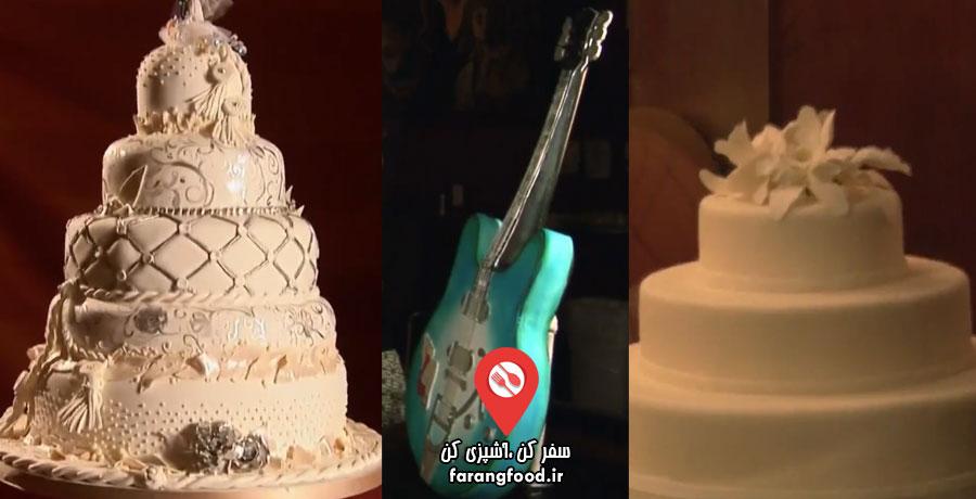 شگفت انگیزترین کیک های عروسی قسمت شانزدهم