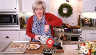 آشپزی امروز فیلم آموزش دسر کرم قهوه شیرین با نان تست فرانسوی
