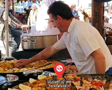 آشپز جسور فیلم آموزش غذاهای خیابانی اسپانیایی