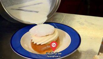 نانوایی پل هالیوود فیلم آموزش پخت نان خامه ای سوئدی سملا