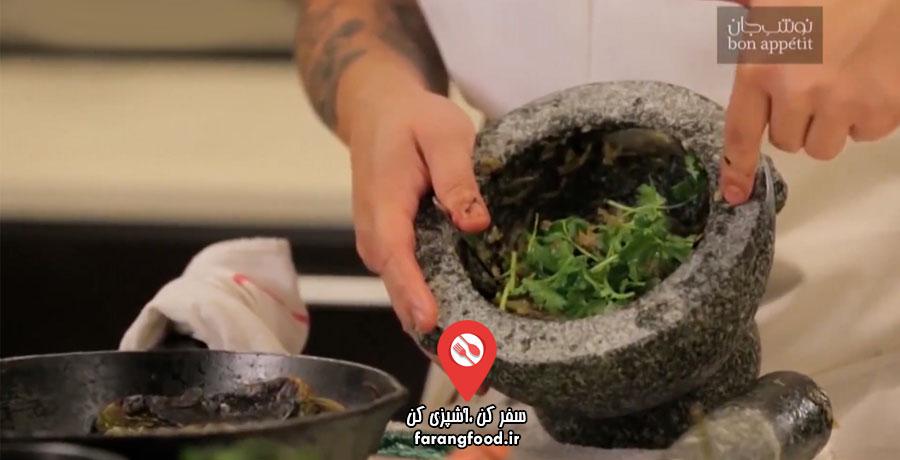 نوش جان فیلم آموزش غذای تایلندی نام پریک نوم