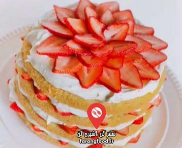 آشپزی با تاتیانا : فیلم آموزش چیز کیک توت فرنگی