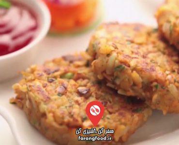 آشپزی با واه : فیلم آموزش اسنک کتلت مخصوص