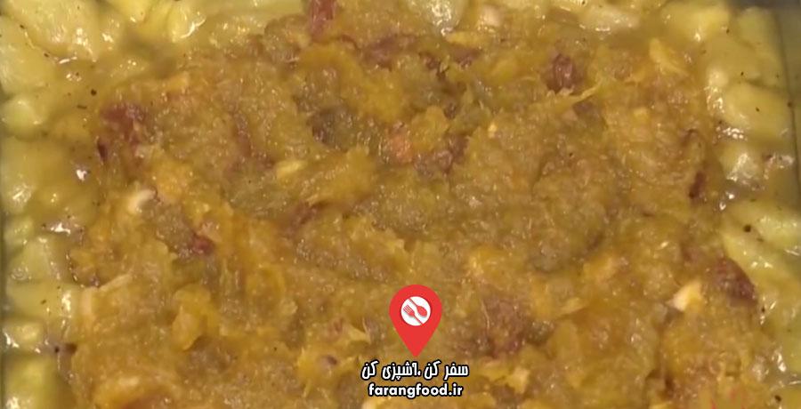 آشپزی با واه : فیلم آموزش حلوا با کدو و سیب