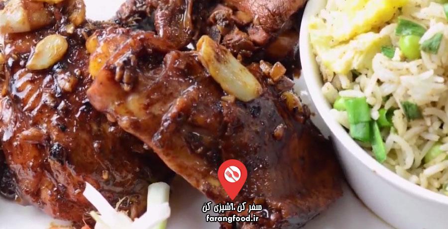 آشپزی با واه : فیلم آموزش خوراک مرغ فیلیپینی