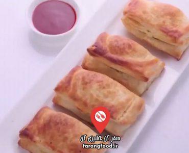 آشپزی با واه : فیلم آموزش نان پنیر پفی